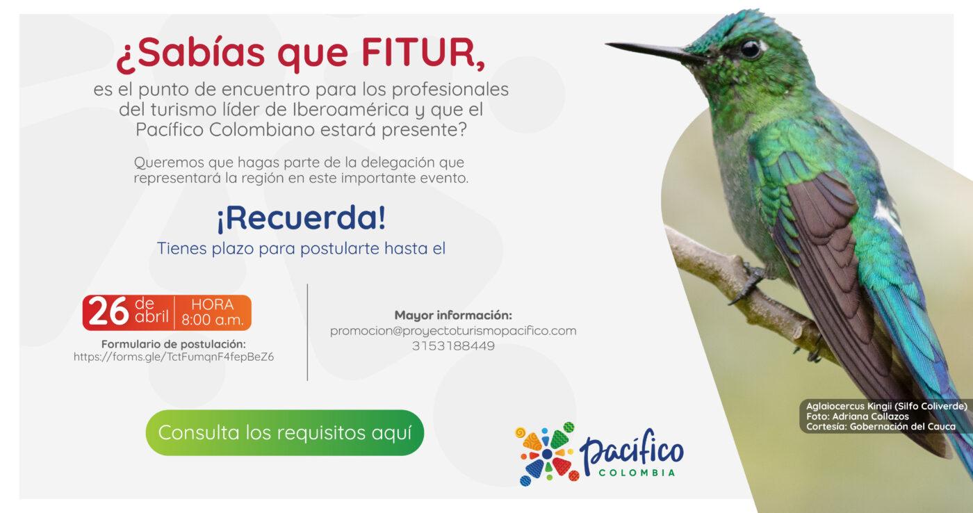 Información sobre la invitación a participar de FITUR